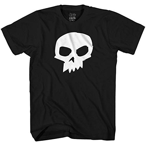 Disney Pixar Toy Story Sid Skull T-Shirt (Large,