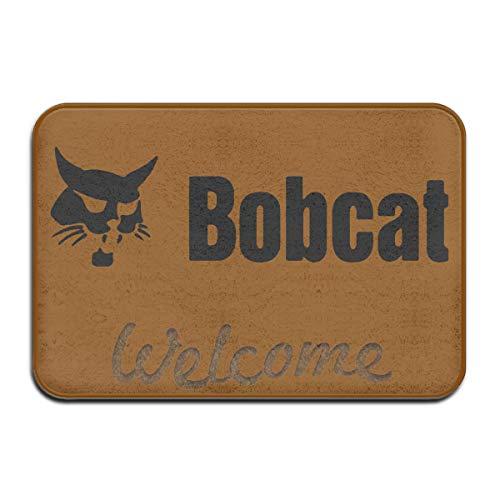 Bobcat Super Absorbent Anti-Slip Mat Indoor/Outdoor Decor Rug Doormat 23.6(L) X15.7(W) Inch Floor Mats