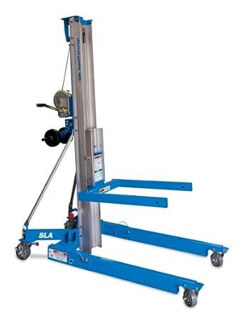 "Genie Super Lift Advantage, SLA- 5, 1000 lbs Load Capacity, Lift Height 6' 7"", Load & Transport with Single User"