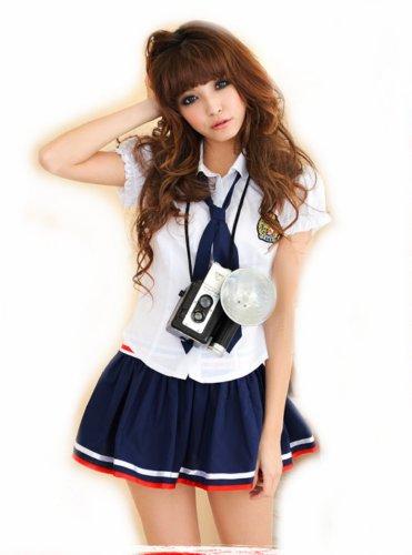 Lingeriecats Sexy School Girl Study and Love Costume Cosplay (Sexy School Uniforms)