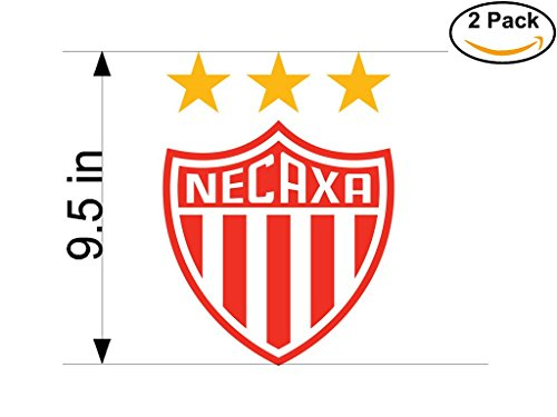 fan products of Necaxa Mexico Soccer Football Club FC 2 Stickers Car Bumper Window Sticker Decal Huge 9.5 inches