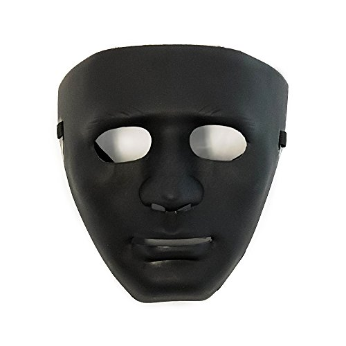 Hiphop Jabbawockeez Cosplay Costume Halloween Masquerade Mask Black]()