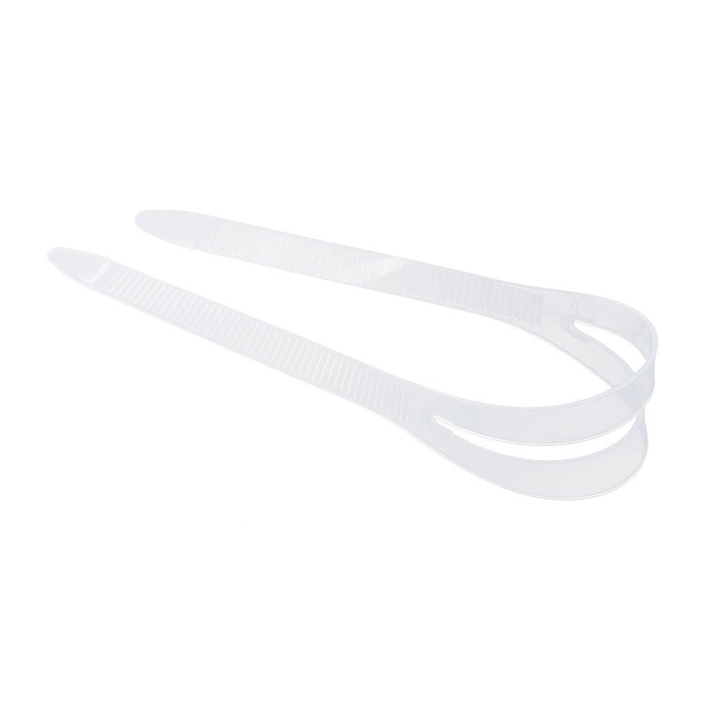 Prettyia 2Pcs Soft Replacement Underwater Scuba Diving Swim Snorkeling Mask Strap Spare Parts Accessories