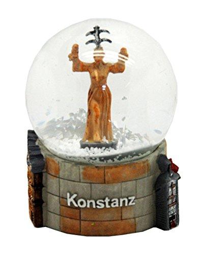 30026 Souvenir Snow Globe Germany Konstanz Bodensee 3.3 Inch.