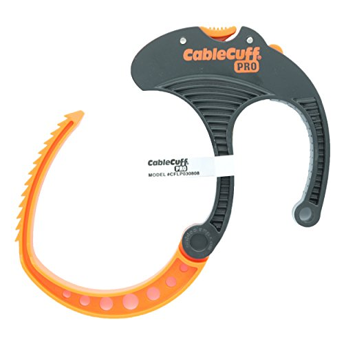 Cable Cuff PRO, Large - 3, Reusable, Adjustable, Cable Tie Replacement (Single Cuff)