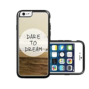 RCGrafix Brand dare-to-dream-quote iPhone 6 Case - Fits NEW Apple iPhone 6