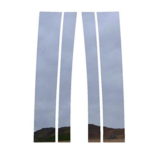 (Ferreus Industries Polished Stainless Pillar Post Trim Cover fits: 1992-1999 Suburban 95-99 Yukon Tahoe PIL-098-CR-01)