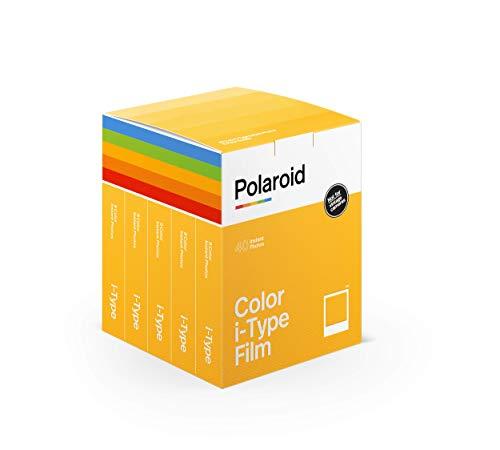 🥇 Polaroid – 6010 – Película Instantánea Color para i-Type – 5 Packs – 40 Fotos