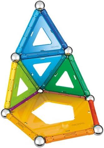 Geomag- Rainbow Juguetes de imán de neodimio, Multicolor, 32 ...