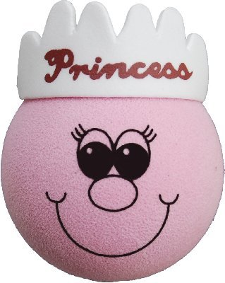 Pink Princess Car Aerial Ball Antenna Topper Aerialballs