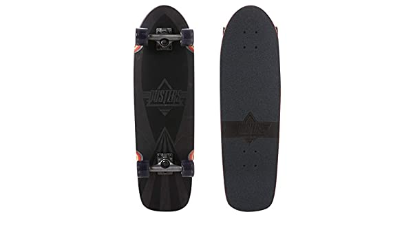 29.5 Inch Dusters Cazh Blacked Cruiser Complete Black Sz 29.5 x 8.75in Cazh Blacked