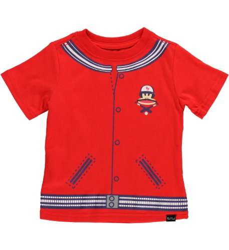 (Paul Frank Boys Team Julius Tee Red 18M)
