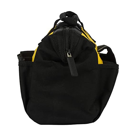 STANLEY STST512114 12'' Multipurpose Tools Storage Water Proof Open Mouth Bag (Yellow-Black) 5