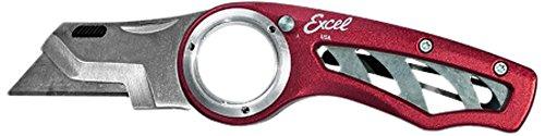 Excel Blades K60 Revo Utility, Folding Box Cutter Knife