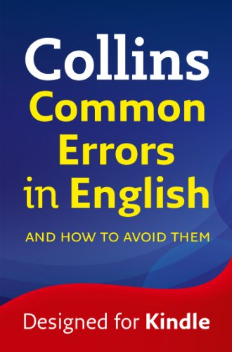 Collins Common Errors in English (Easy Learning)