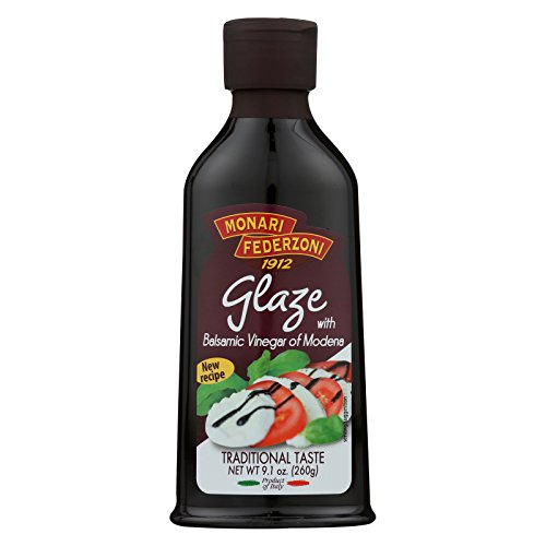 Monari Federzoni Glaze with Balsamic Vinegar of Modena - Case of 6 - 9.1 Fl oz. Monari Balsamic Glaze