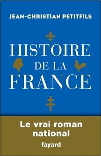 Couverture Histoire de la France