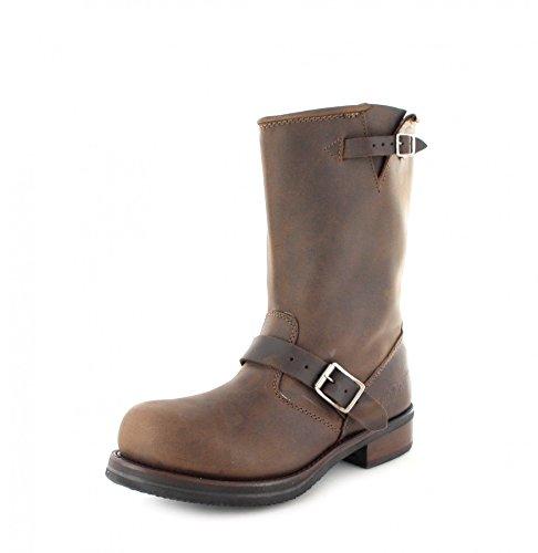 uomo Marrone FB Stivali Boots marrone marrone b Fashion 1808 w6qZFxwP1