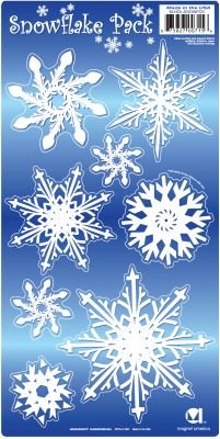 - Snowflakes Magnet Pack