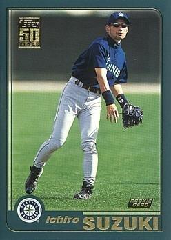 2001 Topps Baseball #726 Ichiro Suzuki Rookie -