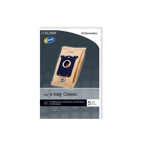 Electrolux EL200F S-Bag Classic Vacuum Bag, Set of 5