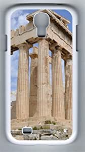 Dilapidated Acropolis Athens Buildings PC Hard Case Cover For Samsung Galaxy S4 SIV I9500 Case and Cover White