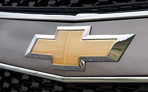 Accarparts Front Bumper Emblem Chrome Grille Badge Grill Sign Symbol Logo Fits for 2011-2014 Chevy Cruze Gold.