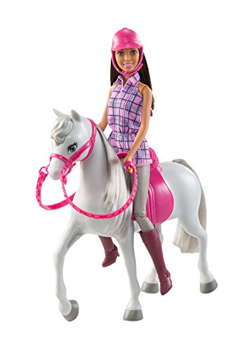 (Mattel Barbie Doll and Horse)