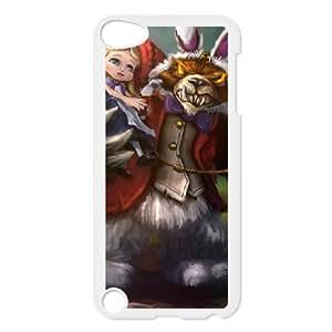 iPod Touch 5 Case White Annie DIY Gift pxf005-3627190