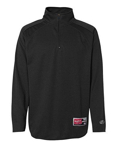 Quarter Zip Bonded Fleece - 8