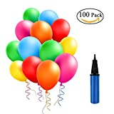 Latex Balloons 10 Inches Assorted Color Party Balloons for Wedding, Proposal, Birthday Party Decorations (100 Pcs) …