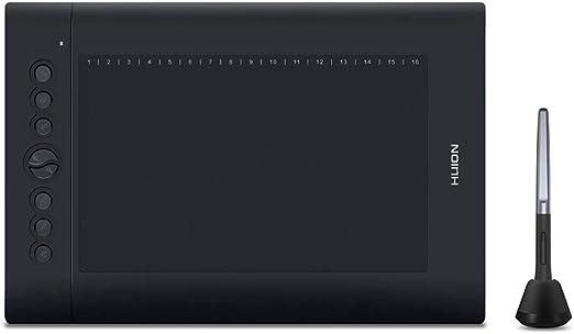 Tickas USBグラフィックス描画タブレットアップグレードされたH610 PRO V2パッドアートデジタル手書き描画ボードとバッテリーなしのペン