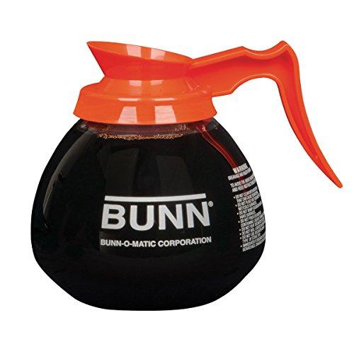 Orange Pourover Decanter, 64 oz
