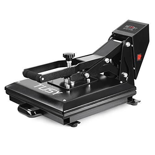 TUSY Heat Press Machine 15x15 inch Digital Industrial Quality Printing Press Heat Transfer Machine for Hat Plate/Cap/T - Press Printing
