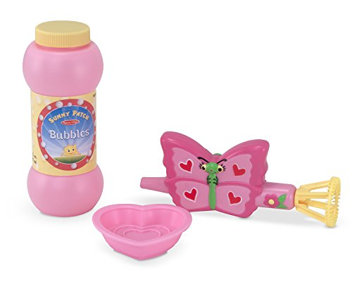 Melissa & Doug Sunny Patch Bella Butterfly Bubble Blower