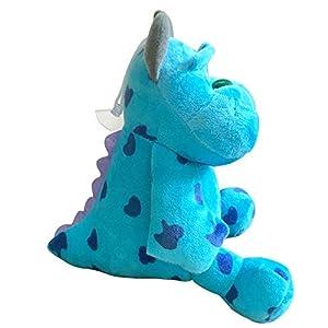 1pc 20cm Monsters Inc Monsters University Monster Mike Wazowski or James P. Sullivan Plush Toy for Kids Gift Blue