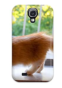 Premium Tpu Munchkin Cats Cover Skin For Galaxy S4