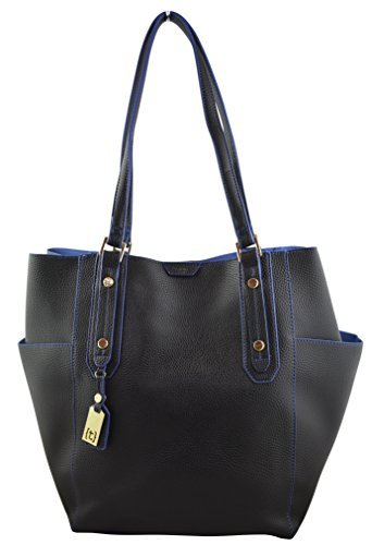 tutilo-exclusive-elegant-work-tote-sophisticated-business-womens-tote-bag-with-wristlet-blue