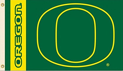 NCAA Oregon Ducks 3-by-5 Foot Flag With Grommets -  BSI, 95051