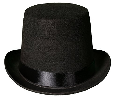 Amazon.com  Kangaroo Deluxe Stove Pipe Abraham (Abe) Lincoln Hat  Clothing 58b0c6fbd70