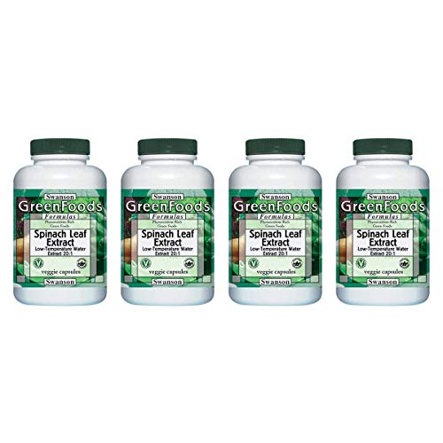 Swanson Spinach Leaf Extract 20:1 650 mg