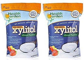 Health Garden Kosher Birch Xylitol 5 lbs. 2-PACK by Health Garden