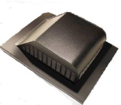 AIR VENT 85285 Slant Aluminum Roof, White, 6 Piece