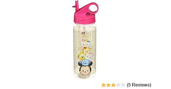 f6e71e5f60 Amazon.com | Silver Buffalo TS0164 Disney Tsum Tsum Characters Stacked Tritan  Water Bottle, 20-Ounces: Tumblers & Water Glasses