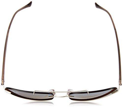 Brown para Ban Ray Silver Marrón Sol 0RB8059 Mirror Gafas Gradient Hombre de FXgwdq8xwC