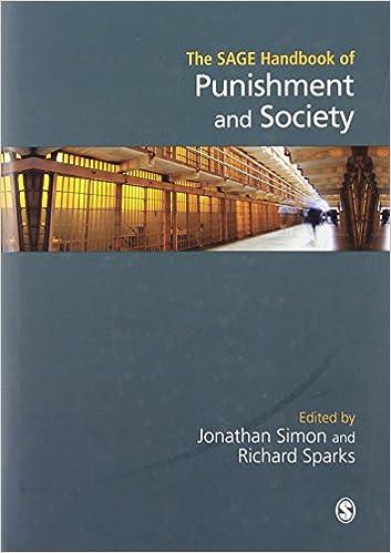 The Sage Handbook Of Punishment And Society por Jonathan Simon epub