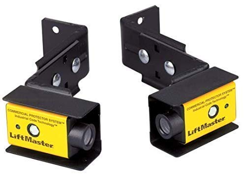 LiftMaster CPS-U Commercial Photo Eyes - Bell Wire and Mounting Brackets Included (Photo Eyes)