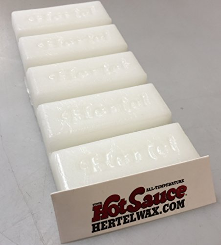 Hertel Wax All Temperature Fast ski wax. 5 Oz, 141 Grams, Put On Hot or Cold. Added control.