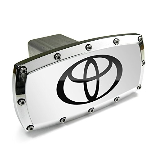 Toyota Logo Billet Aluminum Tow Hitch Cover (Logo Hitch Tube Cover)