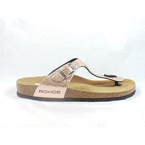 Zapatos naranjas Rohde para mujer 4VWdVl5bpe